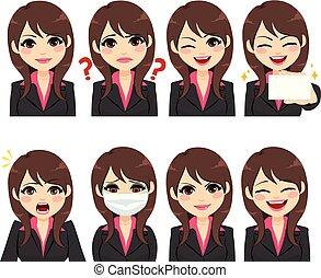 女性実業家, 表現, avatar