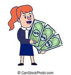 女性実業家, 計画, 財政, 銀行業