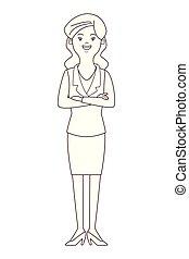 女性実業家, 隔離された, avatar
