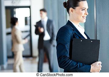 女性実業家, 魅力的, 若い
