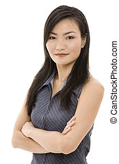 女性実業家, 3, アジア人