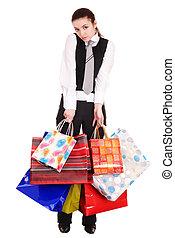 女性実業家, bag., 買い物