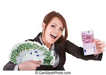 女性実業家, euro., お金, グループ