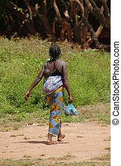 女性, アフリカ