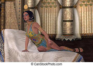 女性, エジプト人