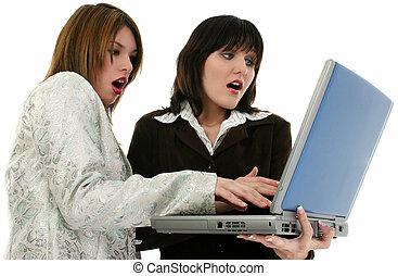 女性, コンピュータ