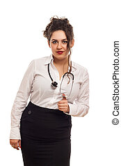 女性, 医者