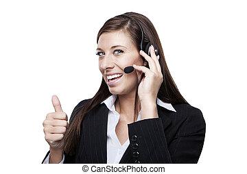 女性, 客戶服務代表