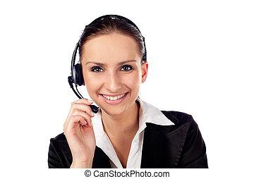 女性, 顧客服務