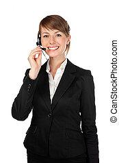 女性, 顧客服務, 被隔离