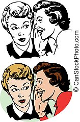 女性, gossiping