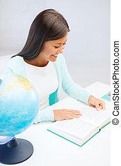 女教師, 由于, 全球, 以及, 書