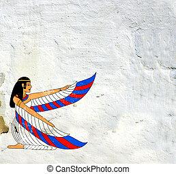 女神, isis, イメージ, エジプト人