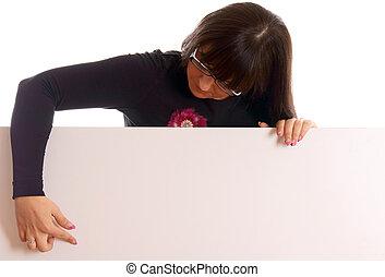 女, ∥で∥, a, 空白のサイン