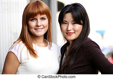 女, アジア人, 若い