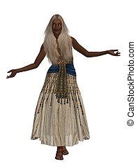 女, エジプト人