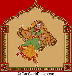 女, ダンサー, indian