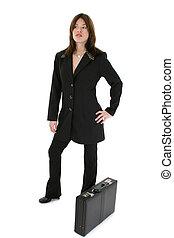 女, ヒスパニック, スーツ