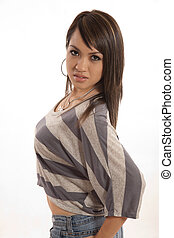 女, フィリピン人, 20代, かなり, 服装, ファッション