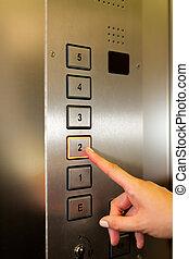 女, リフト, ∥あるいは∥, エレベーター