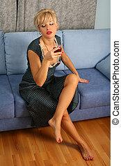 女, ワイン