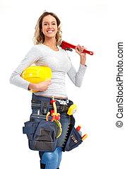 女, 建築者