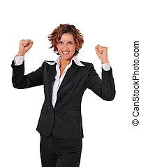 女, 強力, 勝利, ビジネス