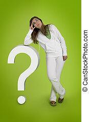 女, 熟考すること, 質問