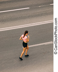女, 訓練, 通り