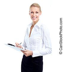 女, accountant., ビジネス