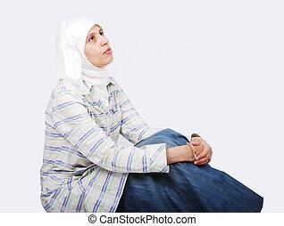 女, muslim