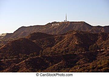 好萊塢, 山