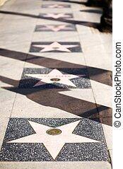 好萊塢, 星, 衚衕