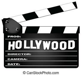 好萊塢, clapperboard