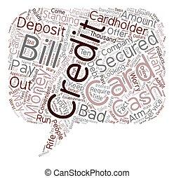 好, 為, 最壞, 信用卡, 為, 人們, 由于, 壞信用, 正文, 背景, wordcloud, 概念