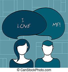 好, 爱, 本身, 正文, 显示, me., 签署, 有, 照片, 概念性, 感觉, selfacceptance.,...