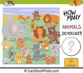 如何, 游戏, 动物, 许多