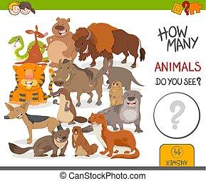 如何, 游戏, 许多, 动物, 活动