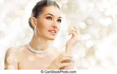 妇女, 珠宝