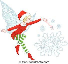 妖精, クリスマス