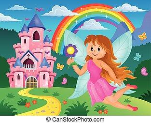 妖精, 主題, 3, イメージ, 幸せ