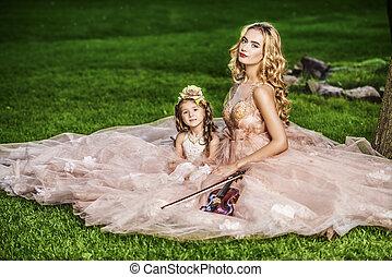 妖精, 天使, 子供