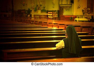 姉妹, 祈ること