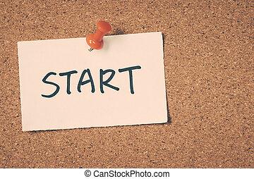 始めなさい