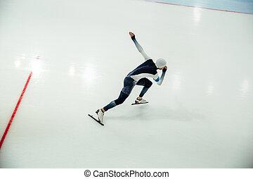 始める, マレ, スピードスケーター