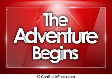 始める, 冒険, 単語, 透明, 形, ガラス