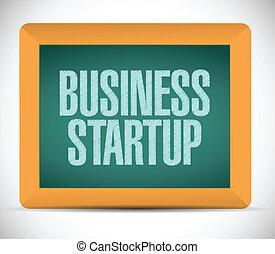 始動, メッセージ, デザイン, ビジネス 実例