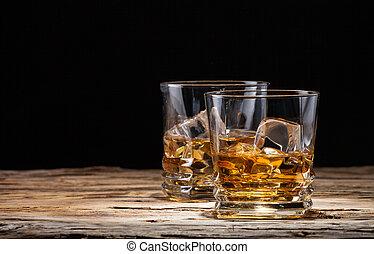 威士忌酒, 喝