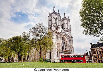 威斯敏斯特, abbey., 伦敦, 腺, 英国