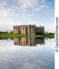 威爾士, 城堡, carew